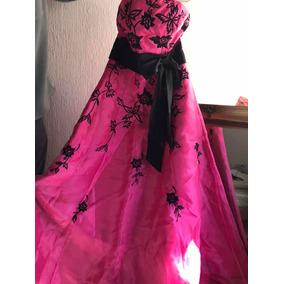 Vestidos de xv fiusha con negro