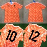Camiseta Holanda Euro 88 Gullit Van Basten