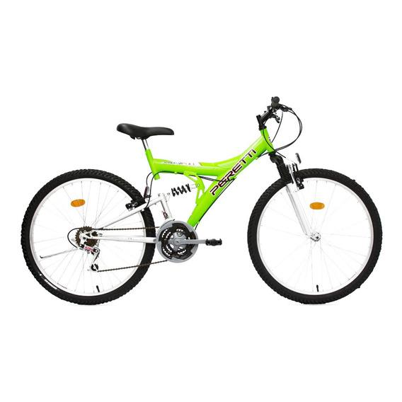 Bicicleta Mountain Bike Doble Suspencion 21vel Rodado26..