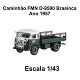 Miniatura Caminhão Antigo Fmn Fretes Carroceria Aberta 1/43