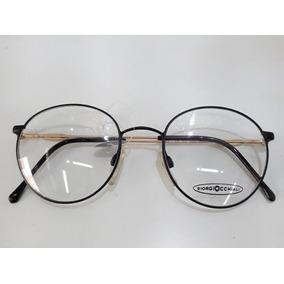 2e01c285b7310 Letras Pequenas Dourada Armacoes - Óculos no Mercado Livre Brasil