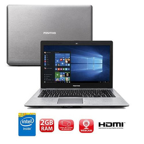 Notebook Positivo Xr3500 Intel 2gb 32gb Wi-fi Win10 Vitrine