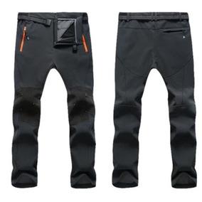 Hombres Al Aire Libre Pantalones Suave... (gray, 4xl)