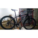 Super Bicicleta Tt Raleigh En Aluminio 21 Vel Frenos Vbrake