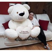 Urso Creme Enorme Gigante 1,3 Mt 130 Cm Supreenda A Namorada