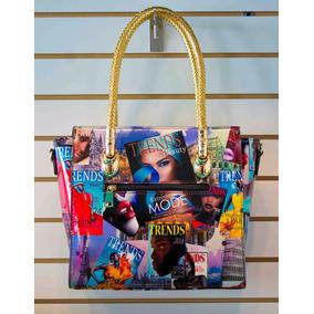 40909c24703 Bolsas Estampadas De Revista - Bolsas y Carteras en Mercado Libre México