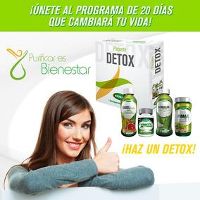 Kit Desintoxicacion Detox De Herbax, Purificar Y Bienestar
