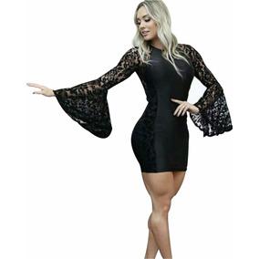Vestido Macaquinho Piriguete Juju Salimeni Cirre Renda F.g