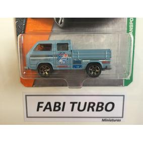 Matchbox - Volkswagen Transporter Cab - Nova Kombi Azul