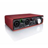 Interfaz De Audio Focusrite Scarlett 2i2 Usb