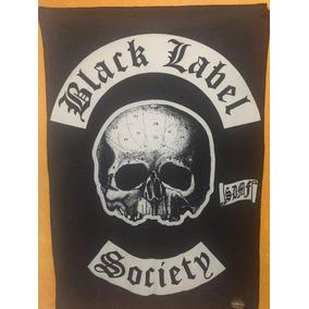Bandeira Banda De Rock Back Label Society