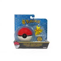 Set Pokémon Pikachu Pokebola Luces Y Sonidos Tomy 2016
