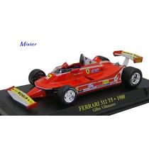Ferrari 312 T5 1980 Gilles Villeneuve Coleccion Ixo Esc 1/43