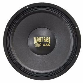 Alto Falante Eros E-15 Target Bass 4.5k 2250w Rms 15 Pol