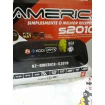 Receptor Azamérica S 2010 4k 8gb Android + Regalo