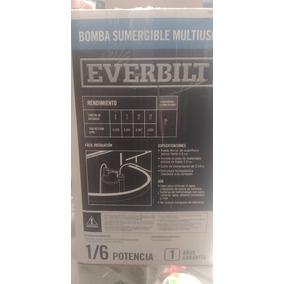 Bomba Sumergible Multiusos 1/6 Hp