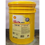 Lubricante 15w40 Shell Helix Hx5 Por 20 Litros