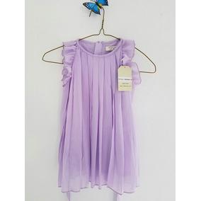 Vestido De Niña Lila 2-3 Años + Envío Gratis