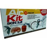 Kit Acessessórios Para Ar Comprimido Com 5 Peças - Schulz