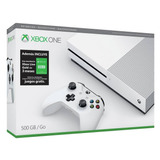 Xbox One S 500gb Reacondicionado + 3 Meses Xbox Live Gold