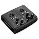 Placa De Gravação Interface M-áudio M-track 2x2