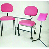 Moveis Para Manicure3 Pç Cirandinha+tripé+cadeira Da Cliente