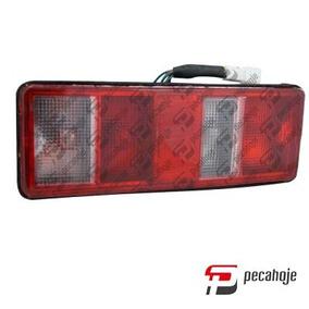 Lanterna Traseira Changan Chana Picape Cab Simples Esquerdo