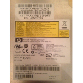 Unidad Dvd Quemador Hp Mod Da-7581s
