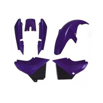 Carenagem Kit Completo Ybr 125 Roxo 2002/2003/2004