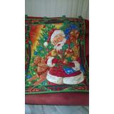 Cortina De Navidad Decorativa