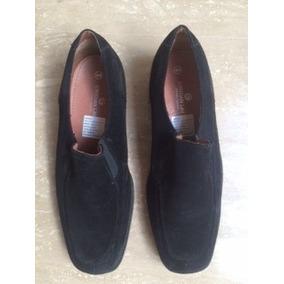 Zapatos De Gamuza Negra Hombre Talla 44