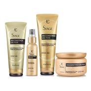 Siáge Reconstrói Fios Shampoo + Condi + Máscara + Queratina