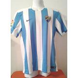 Camiseta Del Malaga De España - Nike Talle M