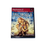Final Fantasy Xii - Americano - Ps2 - Original - Lacrado!