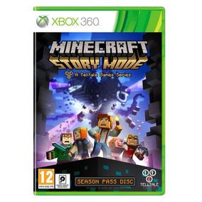 Minecraft Story Mode The Season Pass Xbox 360 Dvd Original