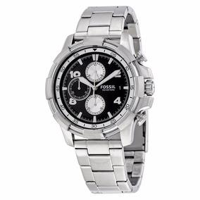 Reloj Fossil Fs5112 Dean Steel Chronograph Acero Inoxidable