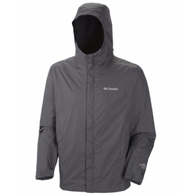 Campera Impermeable Columbia Watertight Talle Xl Color Gris