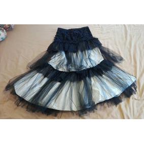 32047da21c Falda Stone Blanca Y Corset - Faldas Mujer en Mercado Libre Perú