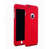 Protector 360 + V. Templado Total Protección Iphone 5 6 7 7p