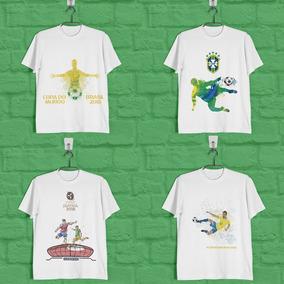 Pacote De Artes A4 Copa Do Mundo - Camisas + Brinde (botons