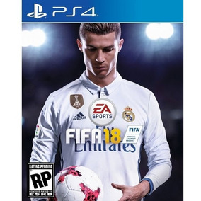 Jogo Fifa 18 Para Playstation 4 (ps4) - Ea Sports