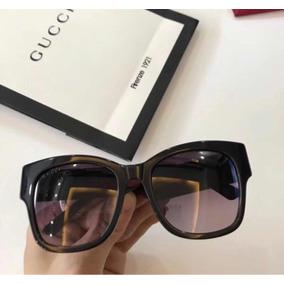 Óculos Gucci Preto Com Haste Vernelho E Verde Original f7707ad471