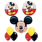 Nuevo Mickey Mouse Globo Decoración Kit De Fiesta