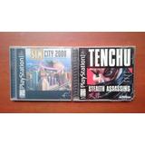 Tenchu + Sim City 2000 Ps1