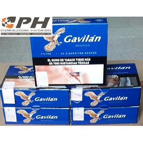 Cigarrillo Gavilan Negro (25 Cajitas De 50 Cigarrillos)$65