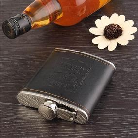 Cantil De Bolso Porta Bebidas, Whisky 210ml 70z De Luxo