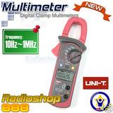 Uni-t Ut203 Ac / Dc Amp Pinza Amperimétrica Corriente...