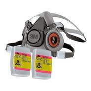 Respirador 3m 6200 Con Filtro 7093c