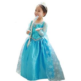 Disfraz Elsa De Frozen Todas Las Tallas Excelentes $ 10.990