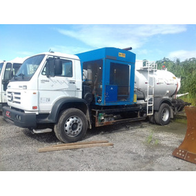 Caminhão Pipa Tanque Limpa Fossa Hidrojato Hidrojateamento